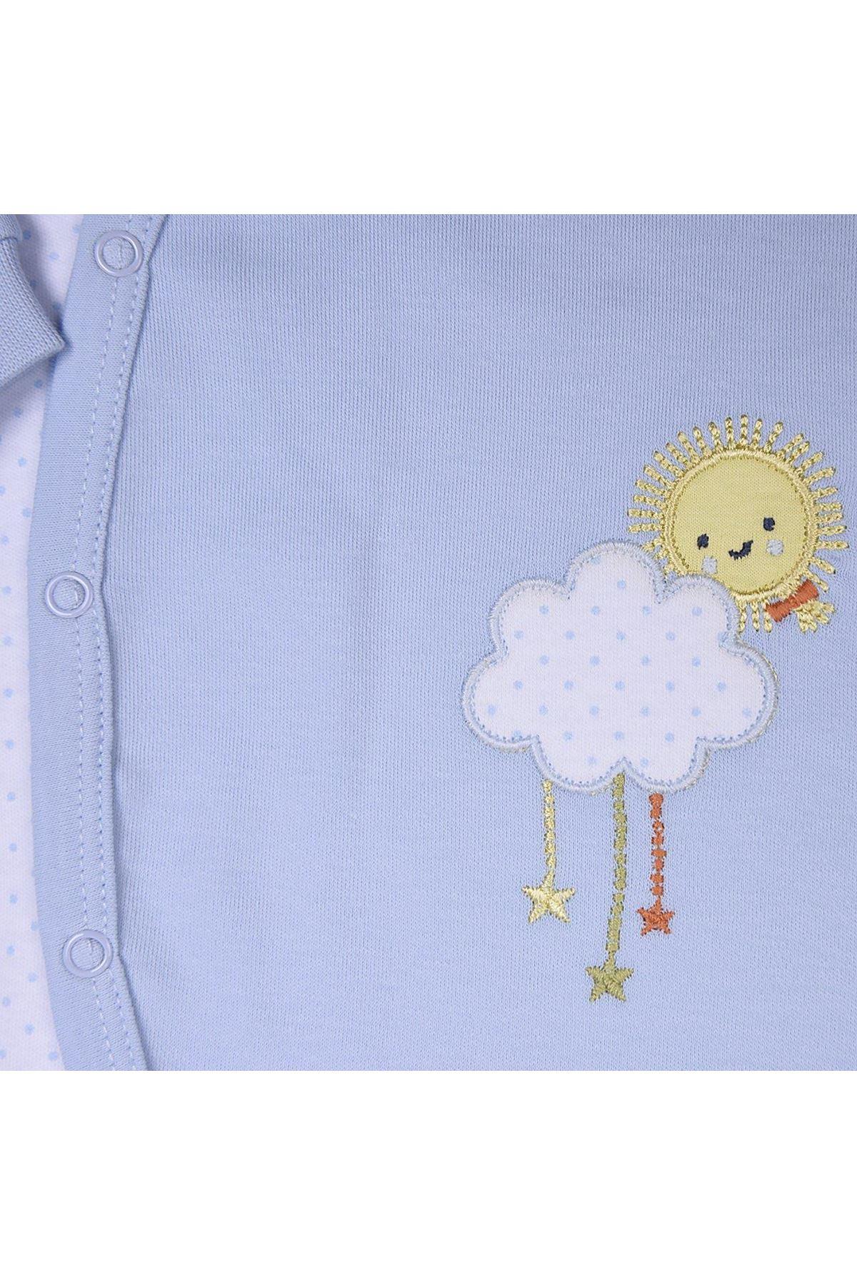 KitiKate Organik Dreams Smile Bebe Tulum 3348 Mavi