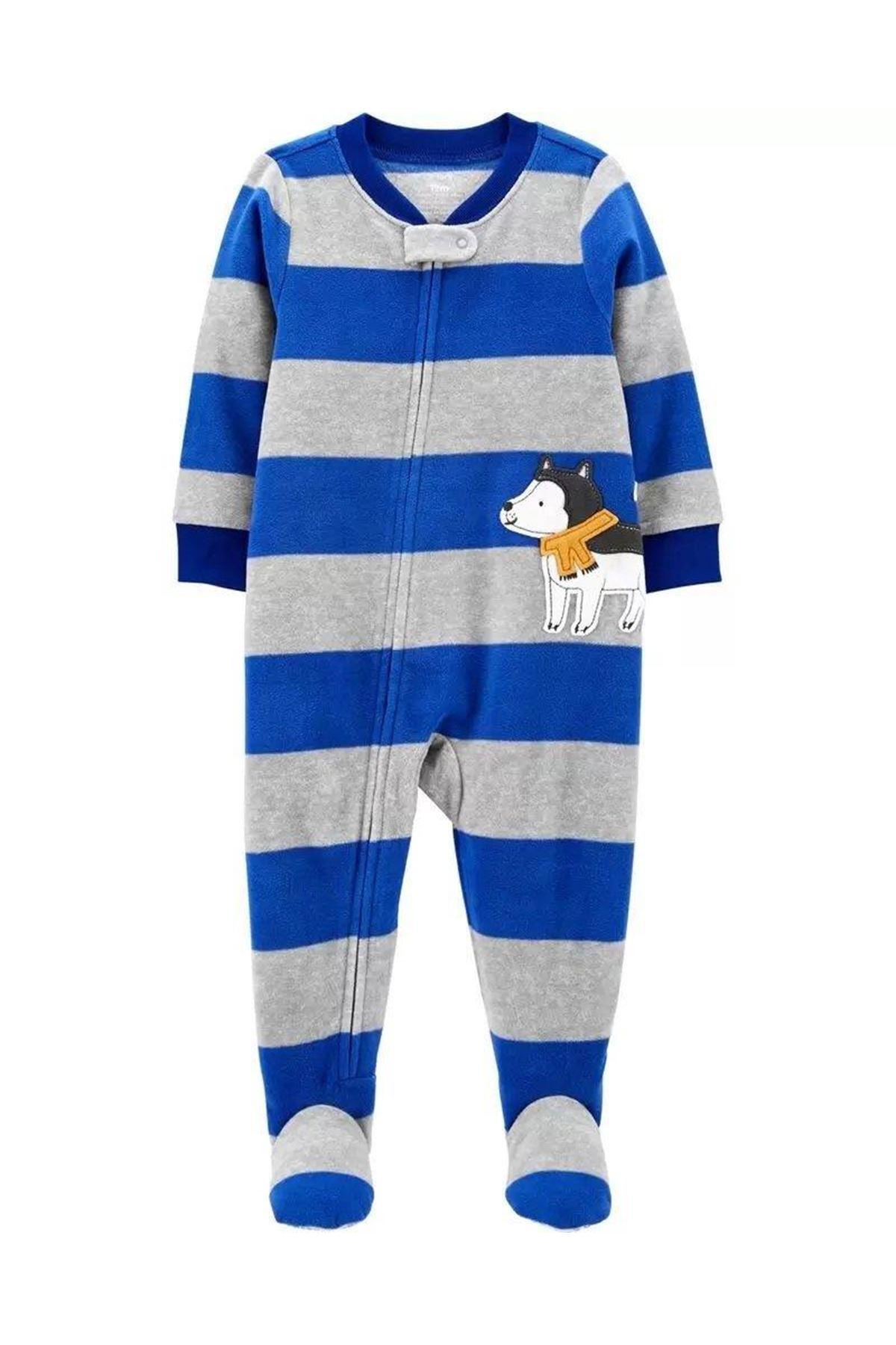 Carter's Erkek Bebek Polar Pijama Tulum 1J228610 Print