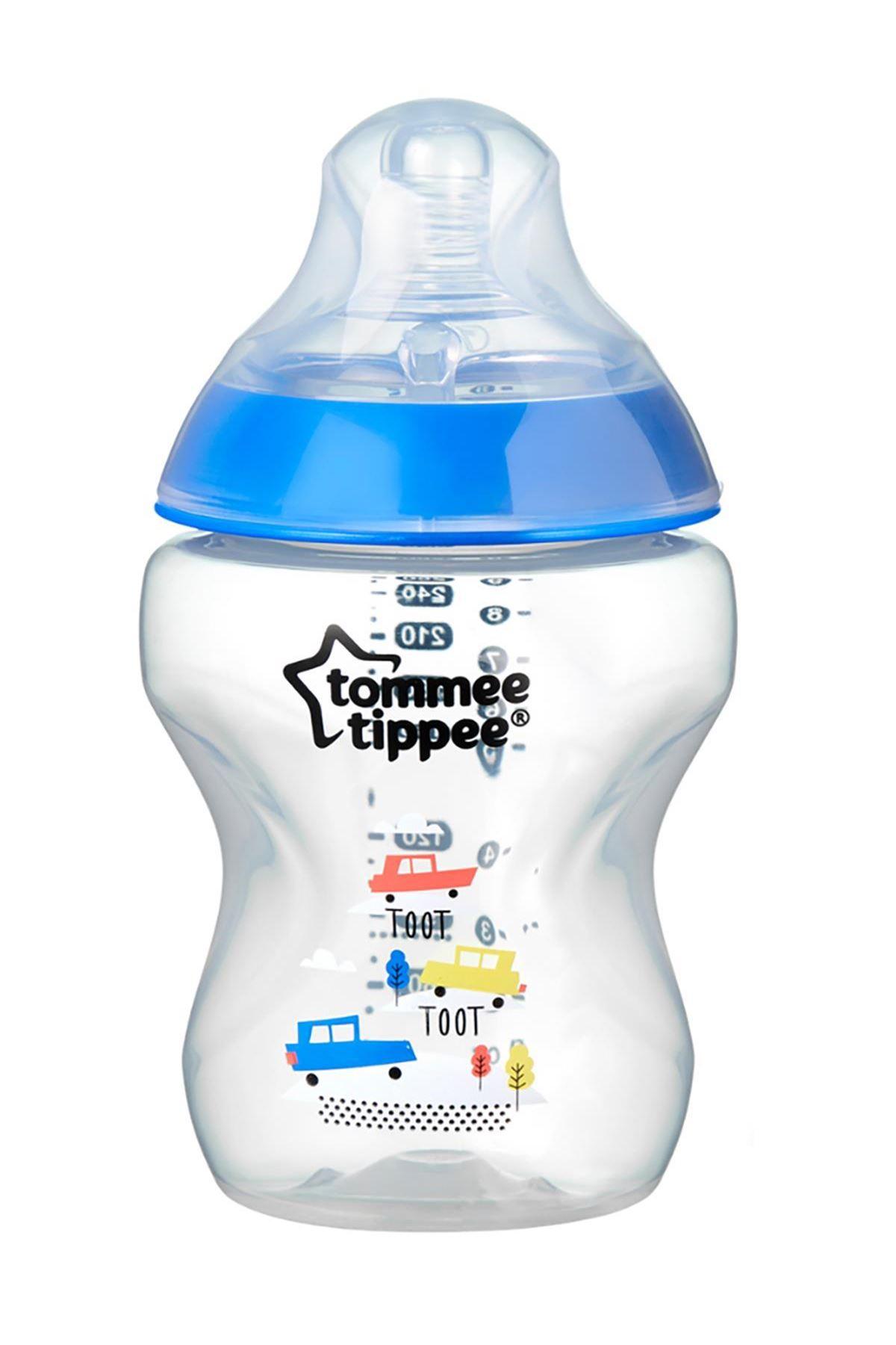 Tommee Tippee PP Closer To Nature Biberon 260 ml Mavi