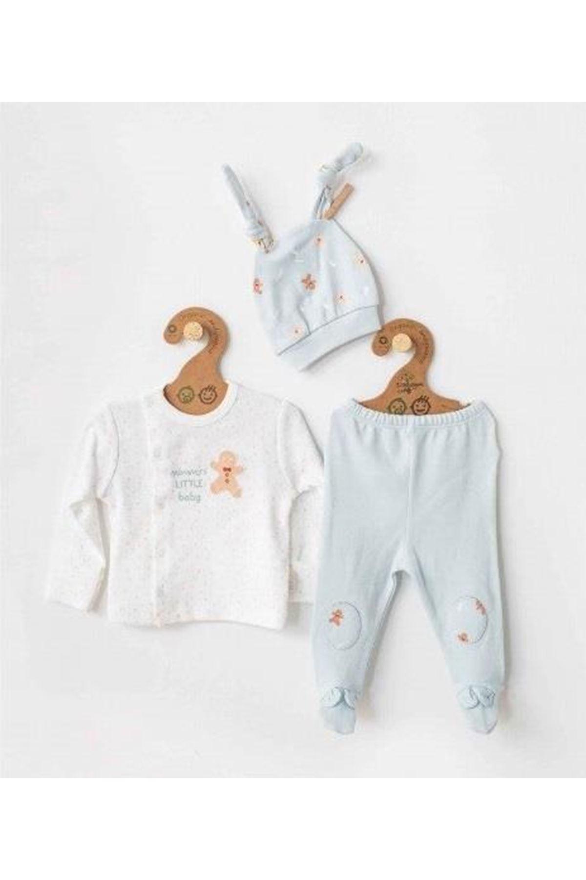 Andywawa AC21312 Natura Wawa Baby 2lü Bebek Takım Mint
