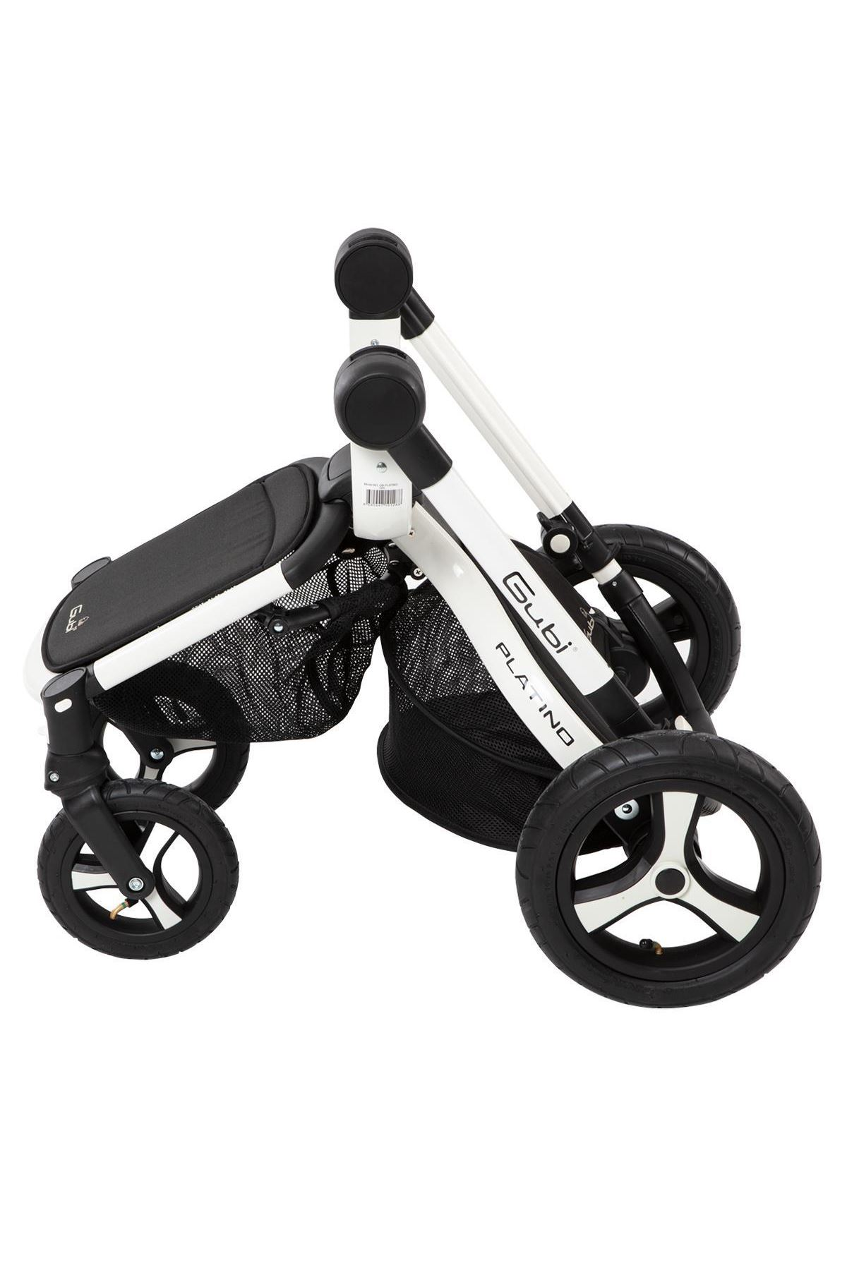 Gubi Platino Travel Sistem Bebek Arabası Siyah