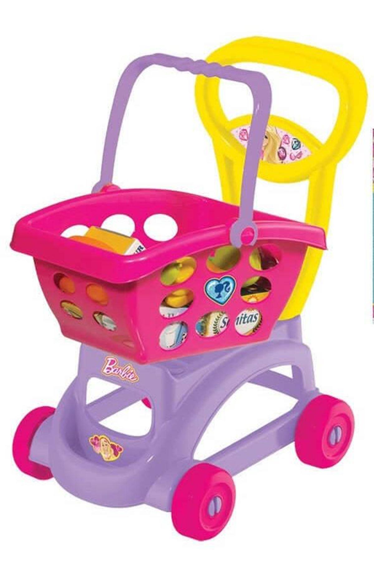 Dede Barbie Sepetli Market Arabası