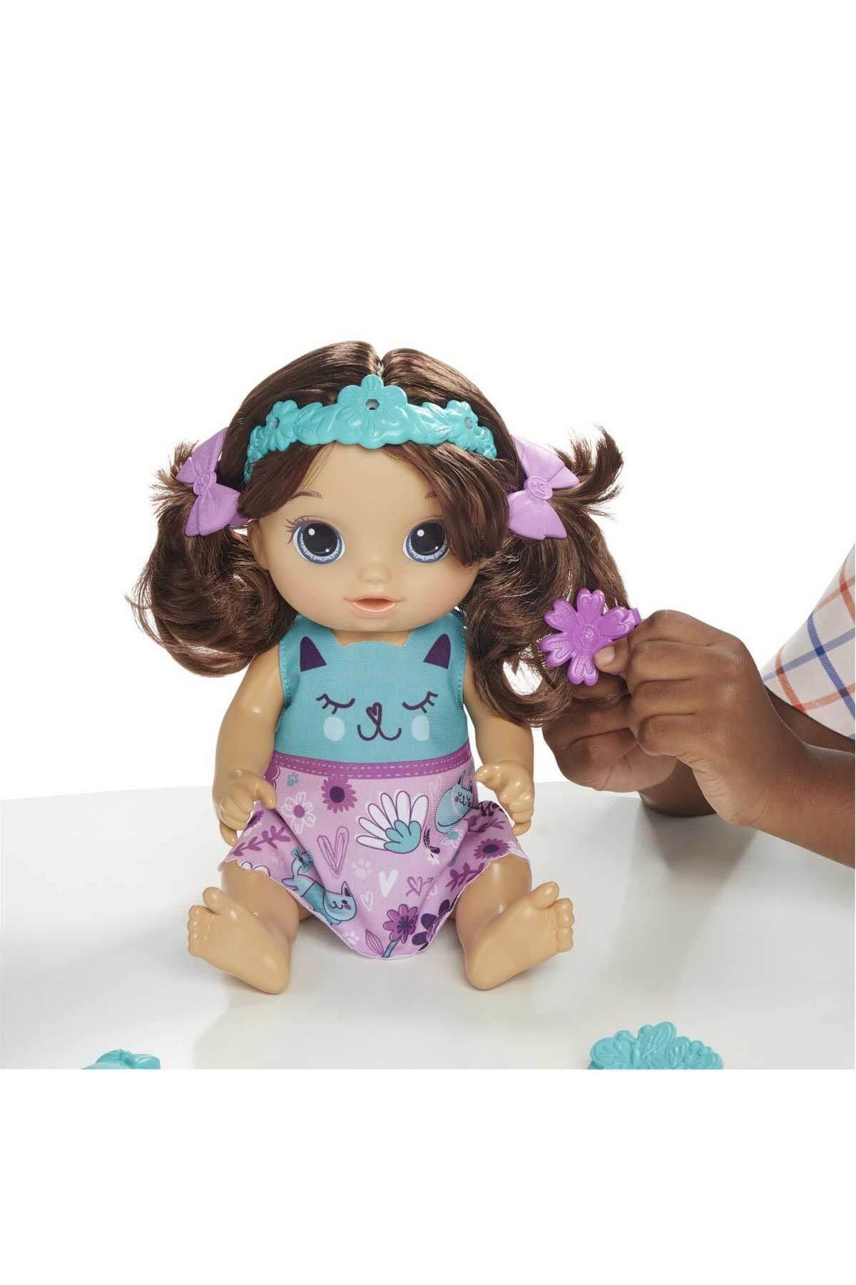 Baby Alive Bebeğimle Saç Tasarımı (Kumral)