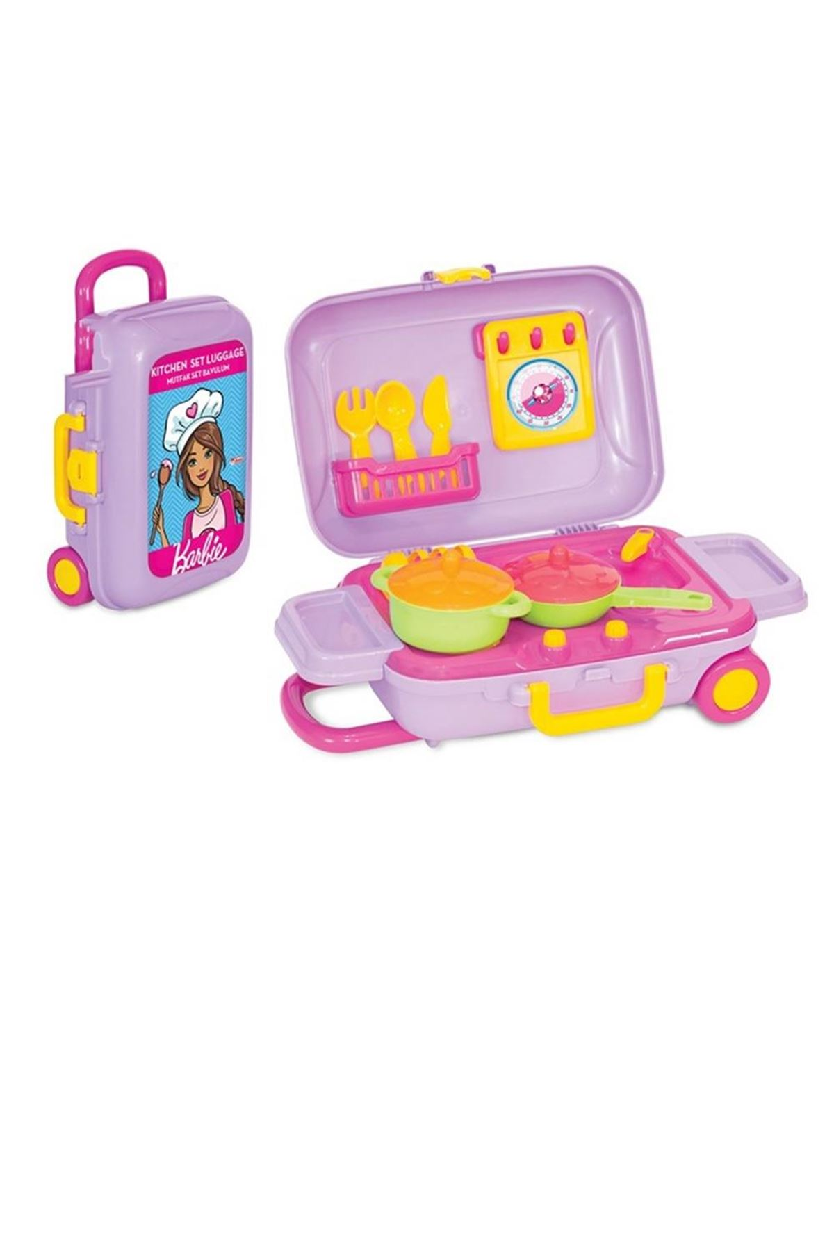 Dede Barbie Mutfak Set Bavulum