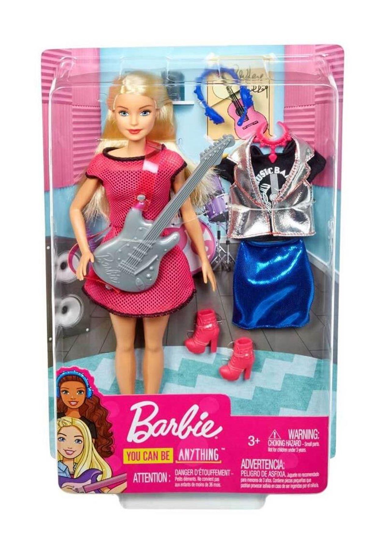 Barbie Rockstar Bebek GDJ34