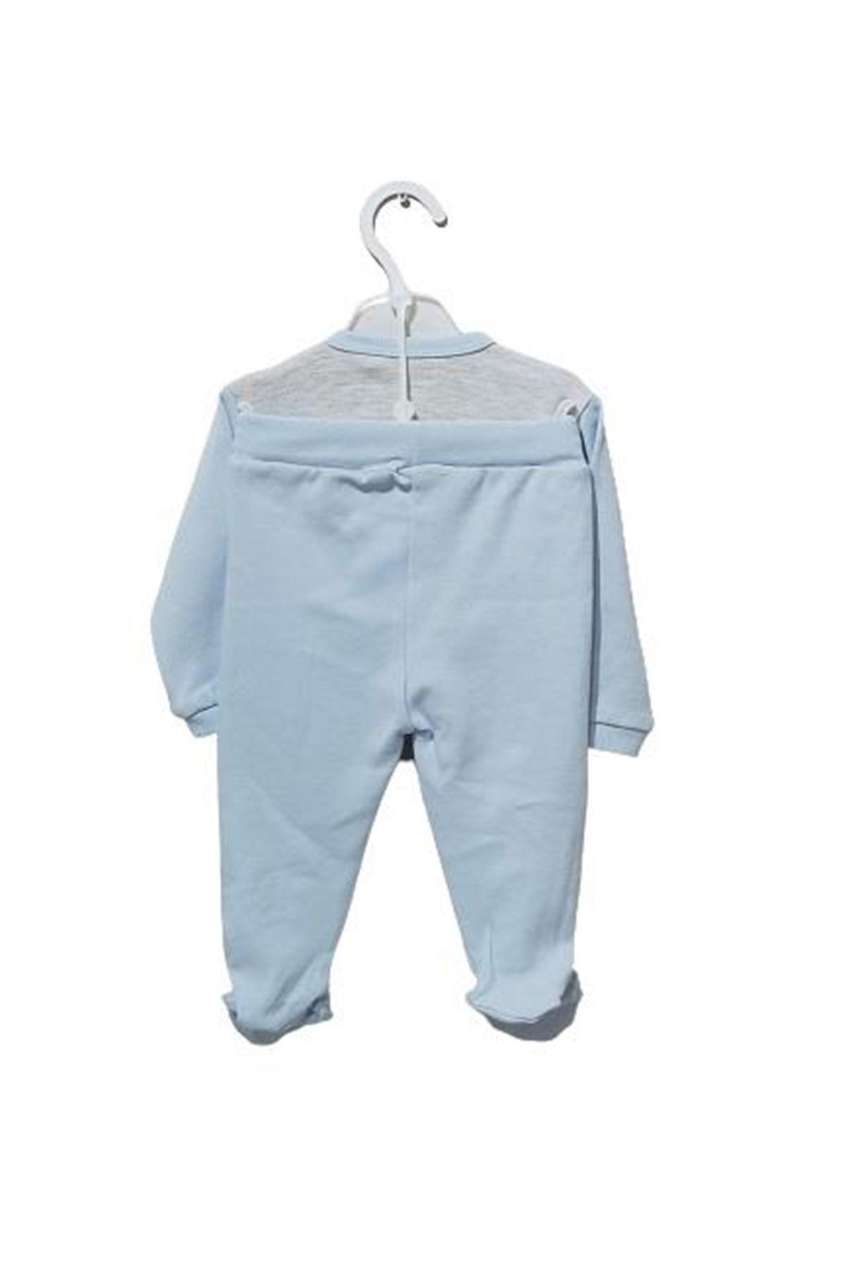 Bebengo 5013 Kirpili Bebe Takım Mavi