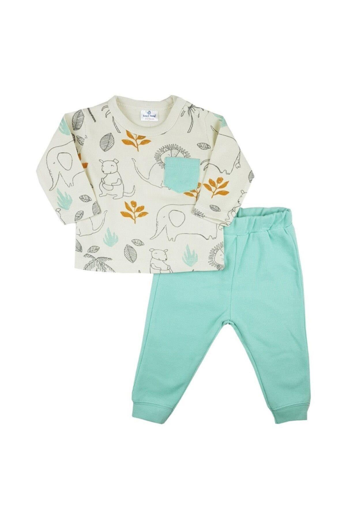 Luggi Baby Selanik Bebe Takım LG-6106 Karışık Renkli