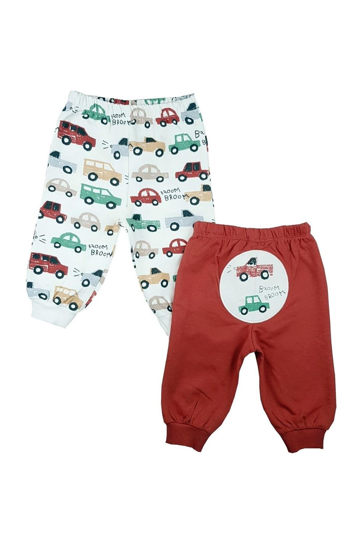 Luggi Baby 2li Bebe Pantolon LG-6056 Karışık Renkli