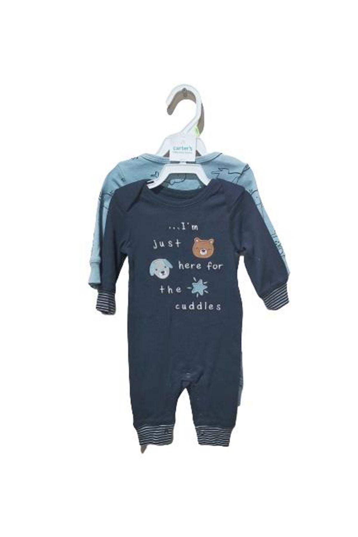 Carter's Layette Erkek Bebek 2li Tulum 1I732710 Blue