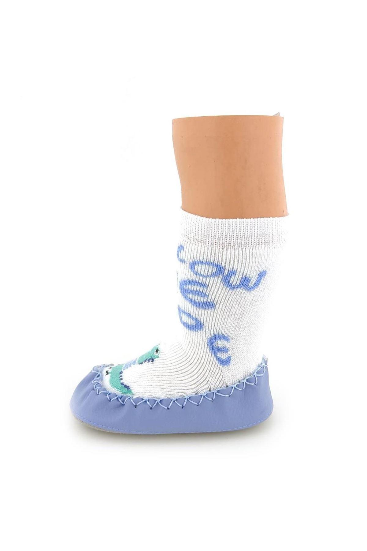 Funny Baby Çarık Çorap 2526 Dinazor