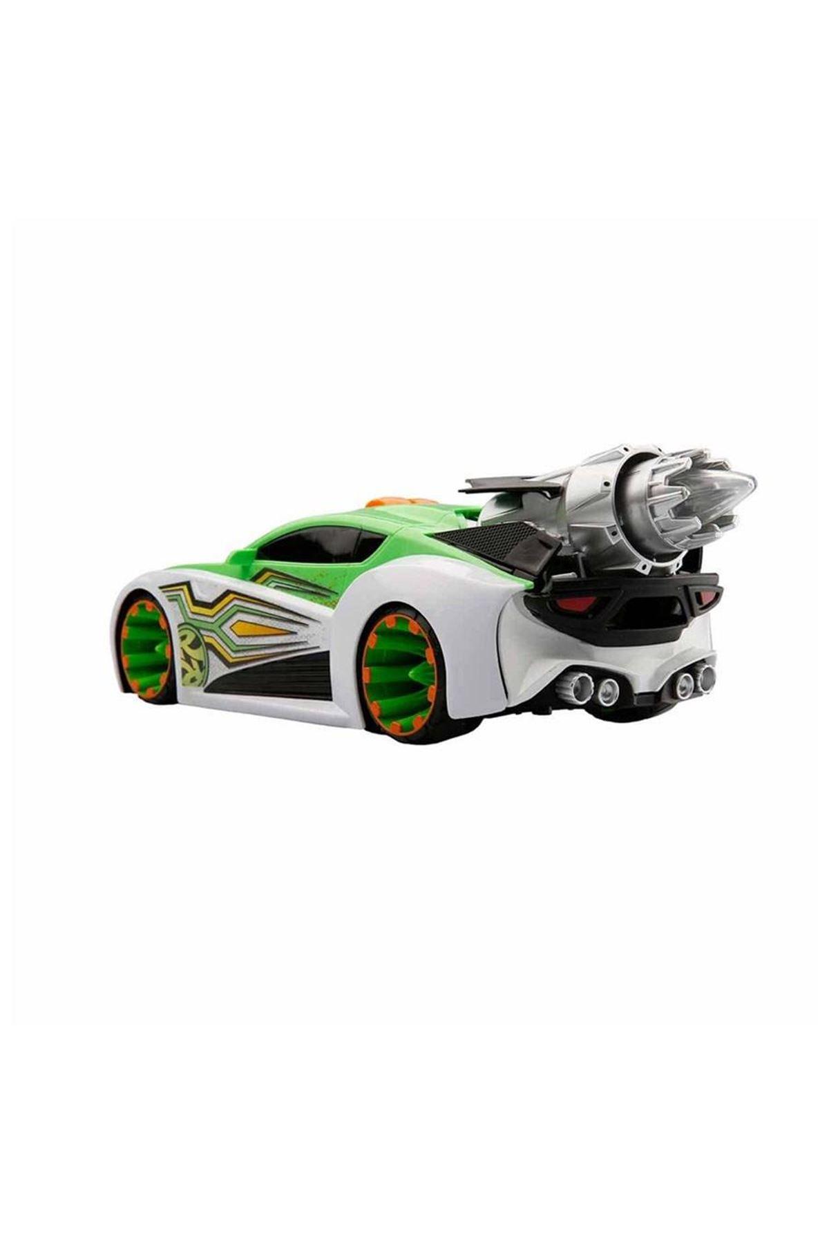 Maximum Boost Sesli ve Işıklı Araba Yeşil