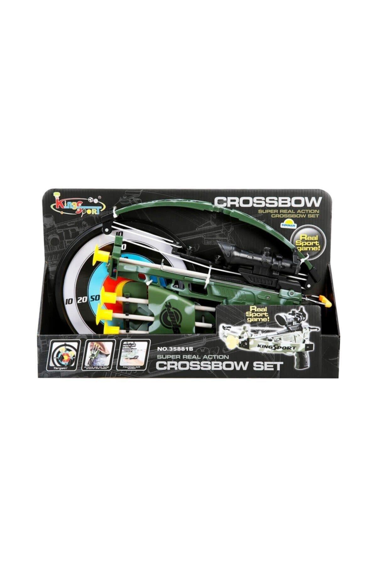 Crossbow Hedefli Askeri Ok-Yay Seti