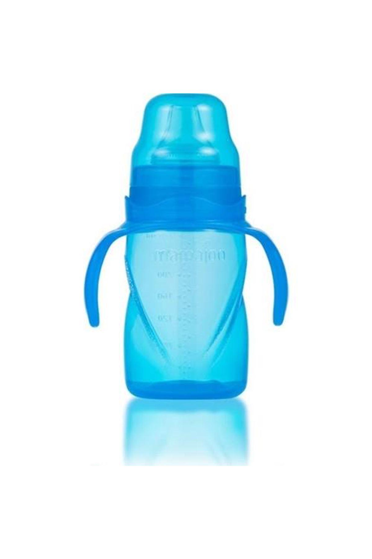 Mamajoo Kulplu Eğitici Bardak 270 ml Mavi