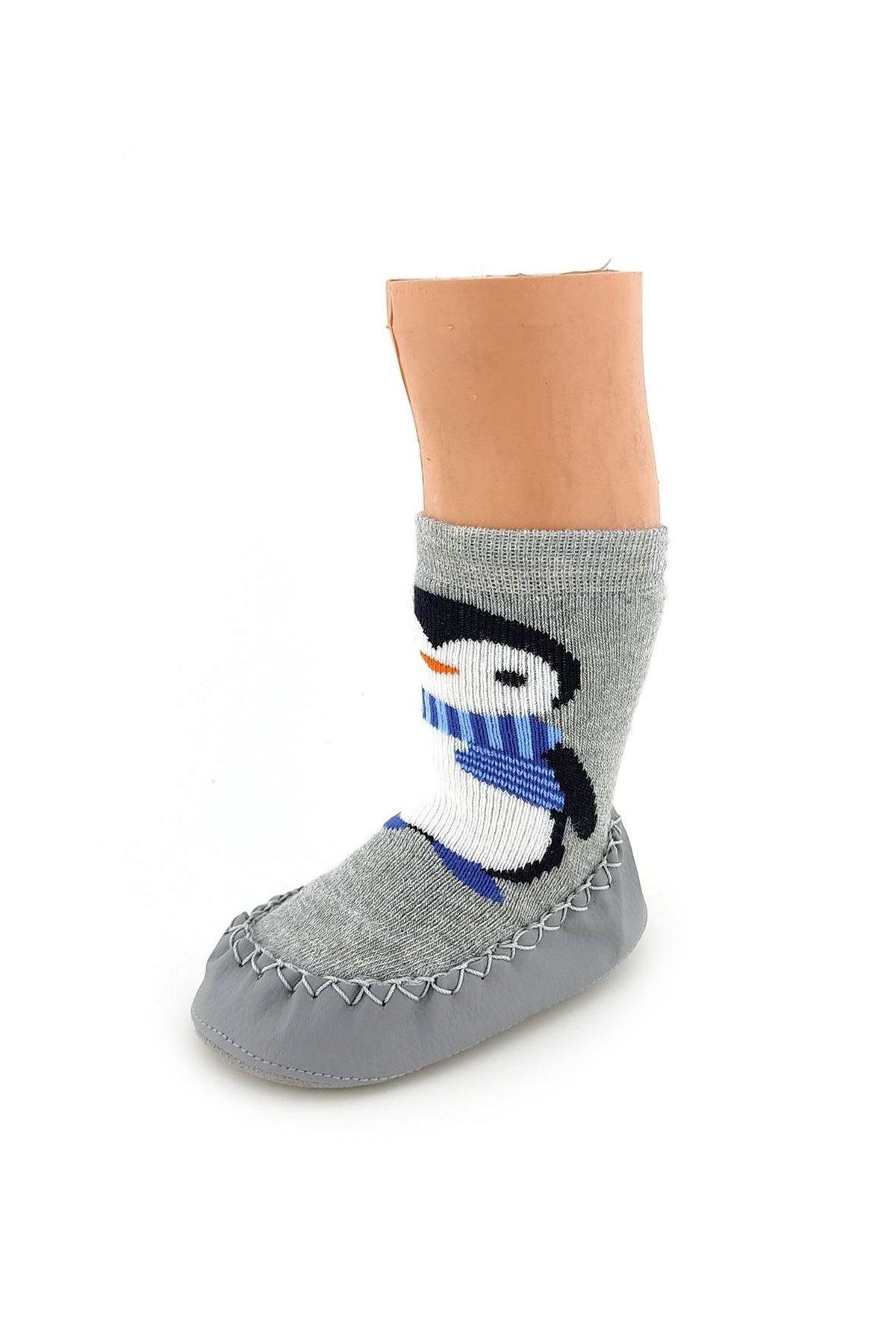 Funny Baby Çarık Çorap 2526 Penguen