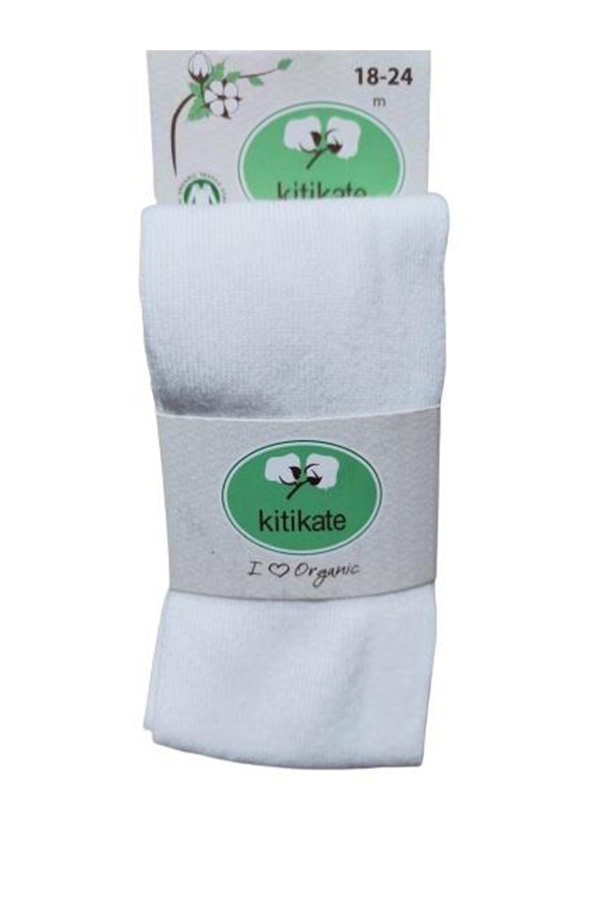 KitiKate Organik Basic Külotlu Çorap 95941 Asorti