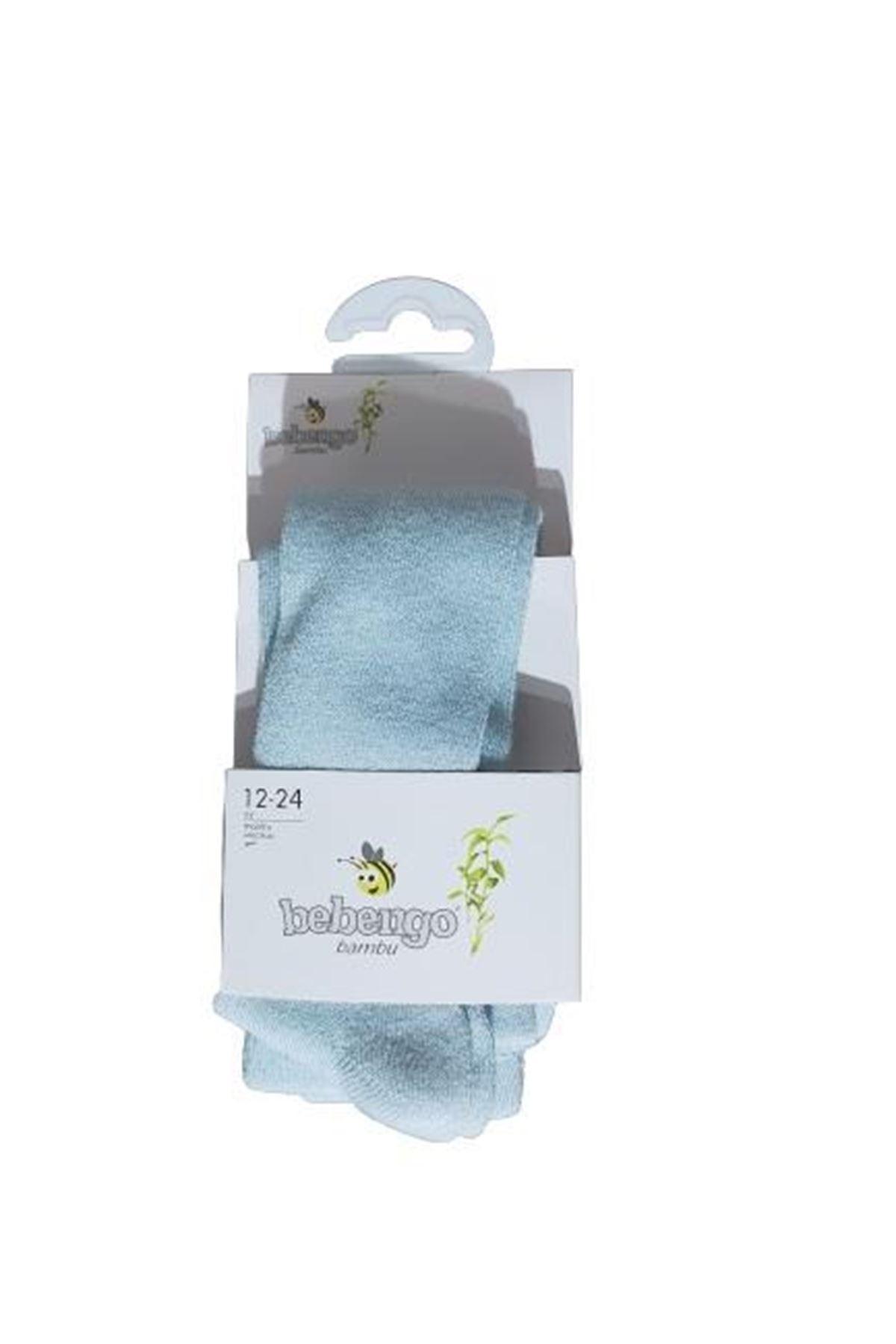 Bebengo Bambu Erkek Külotlu Çorap 9578 Mavi