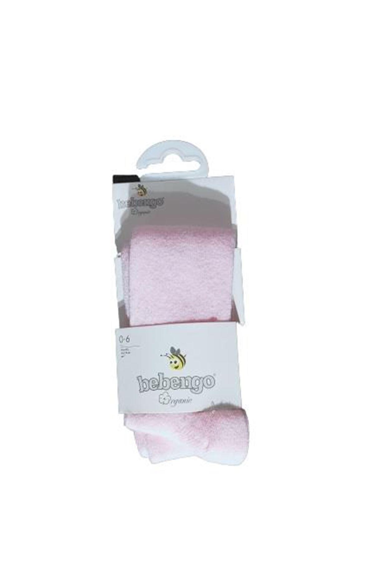 Bebengo Organik Külotlu Çorap 9576 Pembe