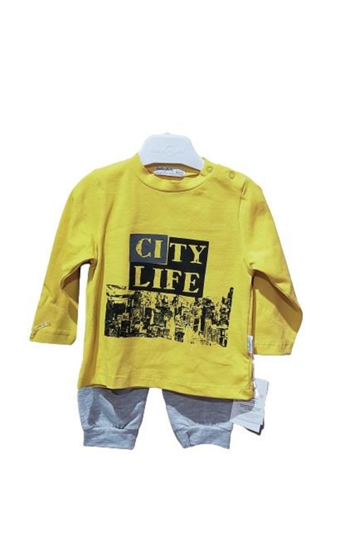 Babydola 11908 2li Takım Yellow