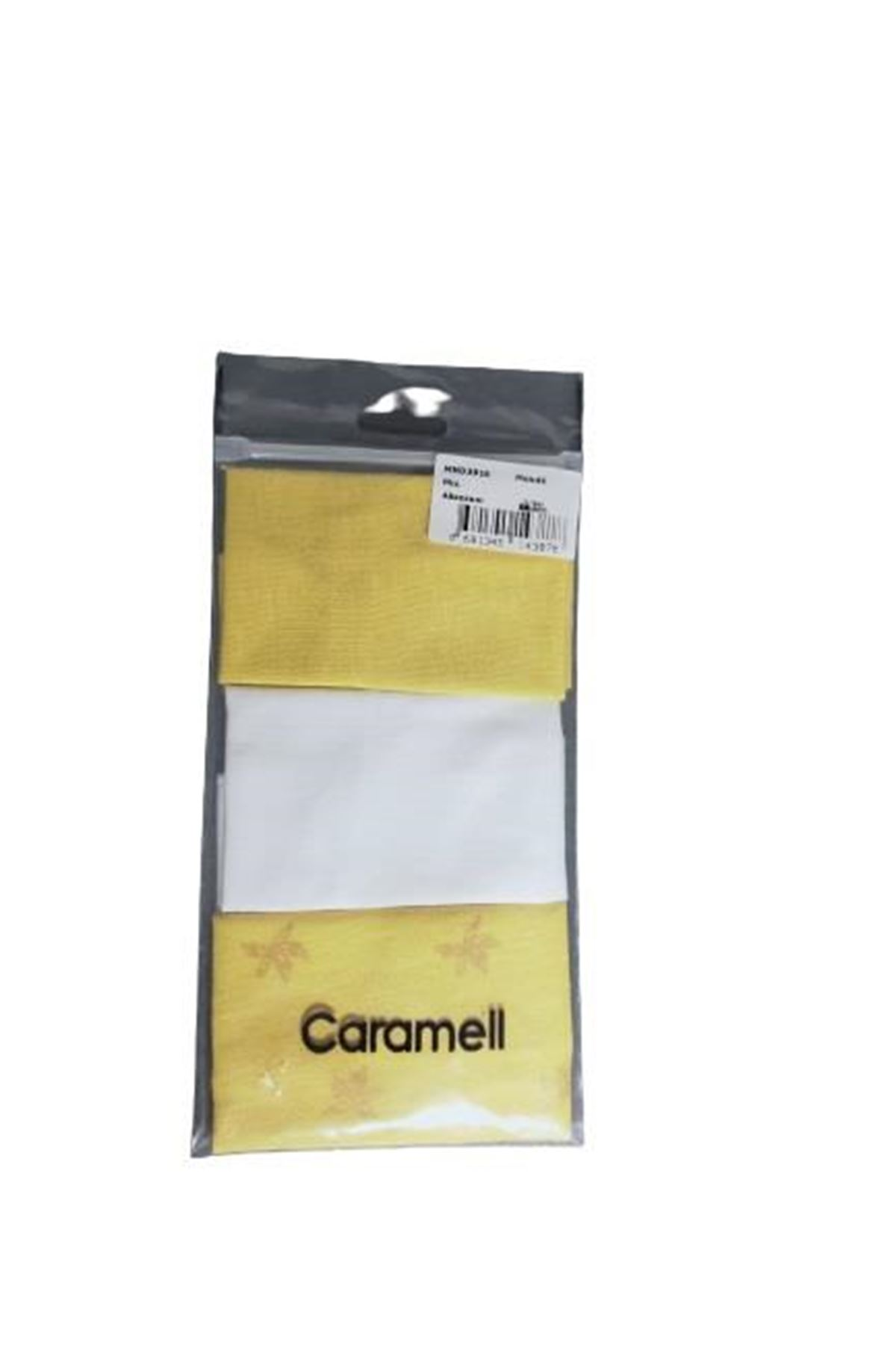 Caramell 3lü Bebe Mendil 3918 Karışık Renkli