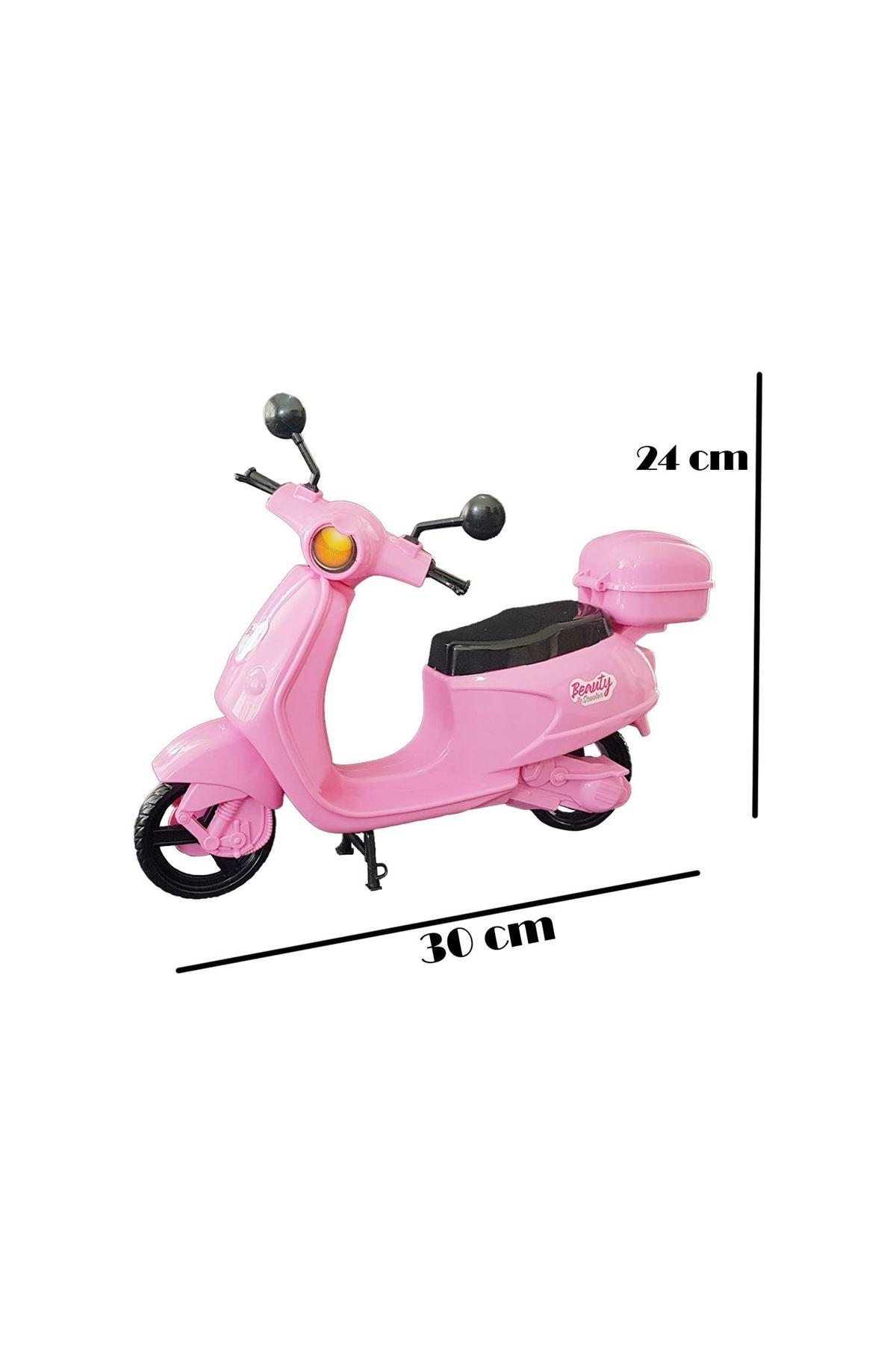 Kingtoys Beauty Bebek Motorsiklet Scooter