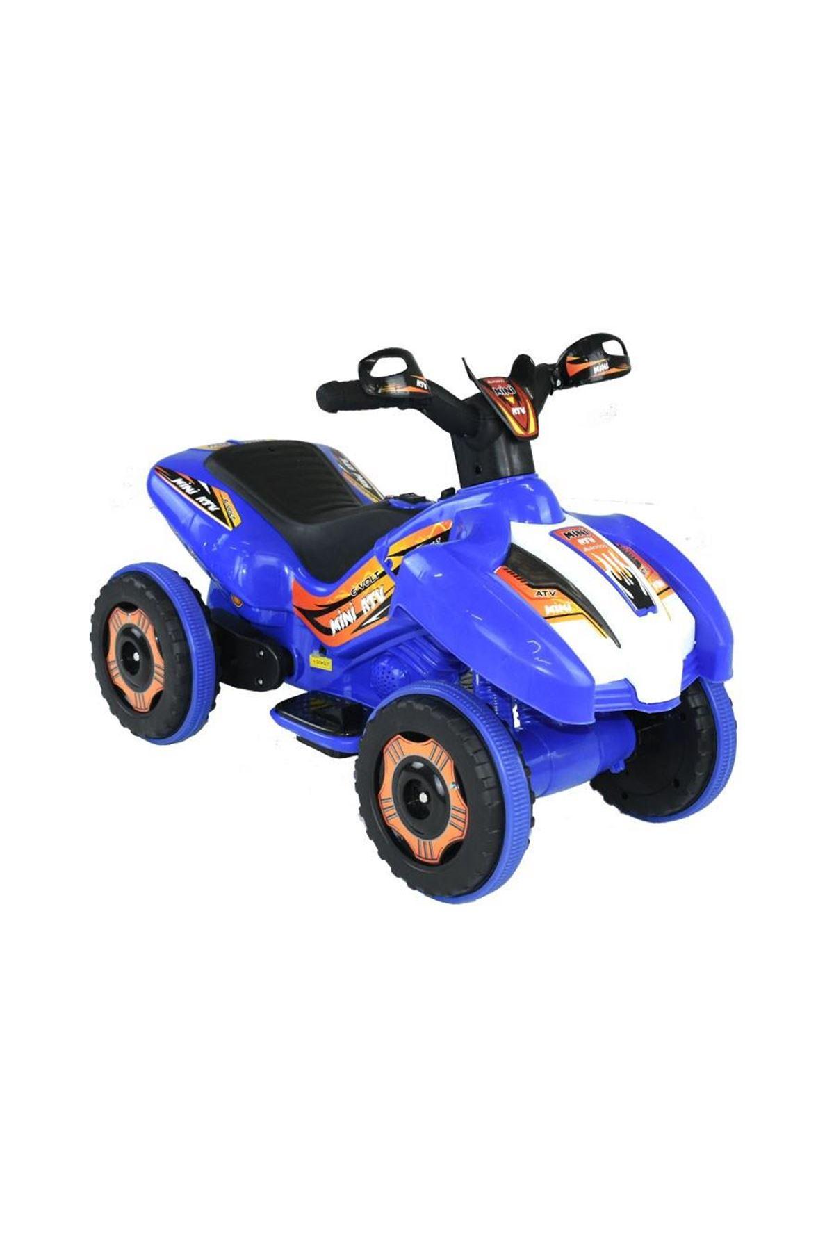 Dukaddo Mini Akülü Atv 6V Mavi