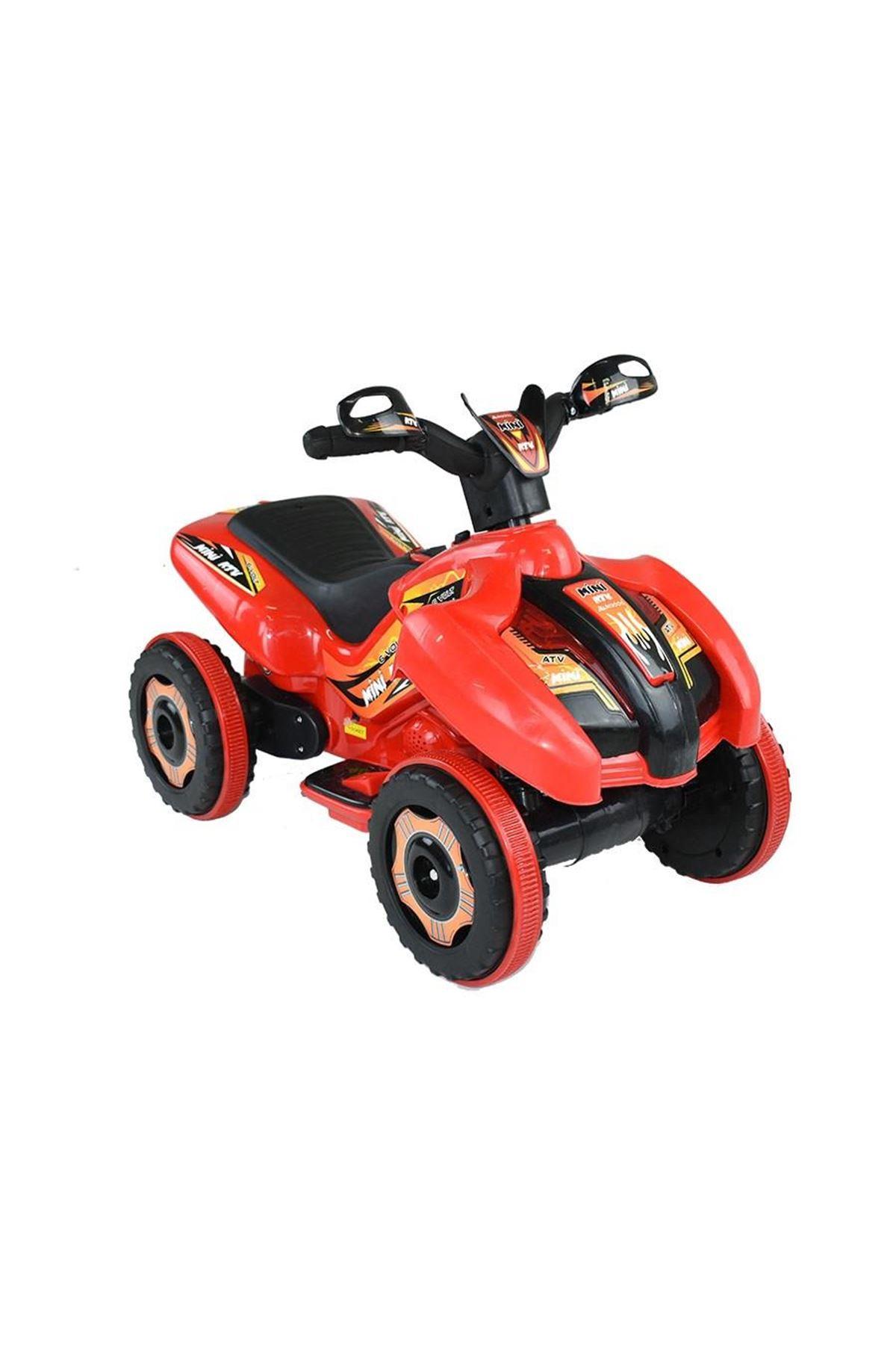 Dukaddo Mini Akülü Atv 6V Kırmızı