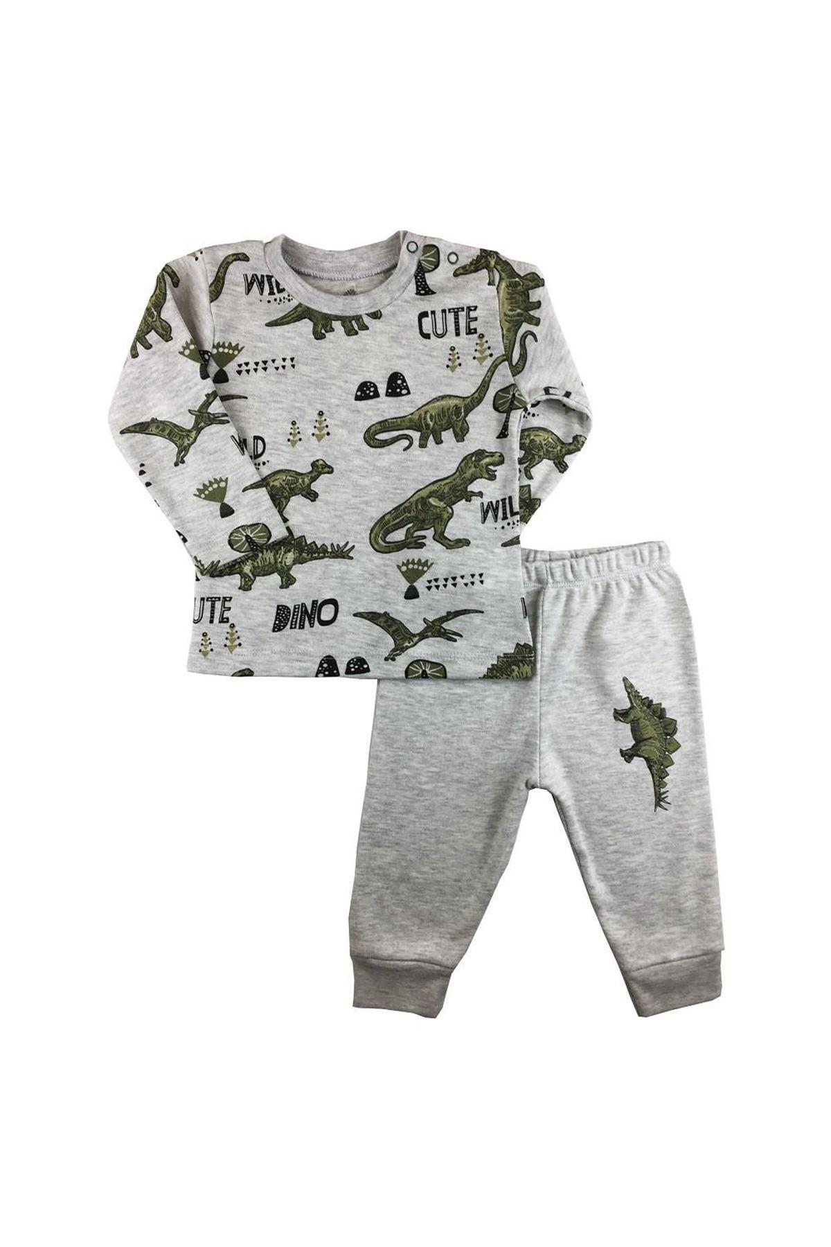 Luggi Baby Dino Friends Emprime 2li Bebe Takım LG-6231 Karışık Renkli