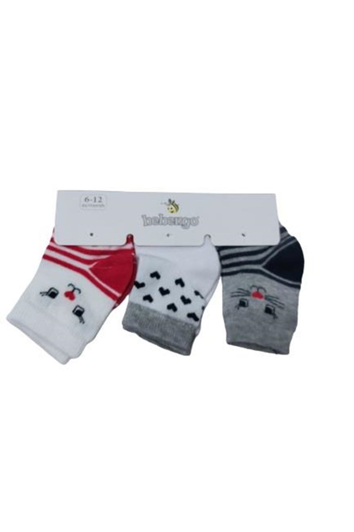 Bebengo Kız Soket Çorap 9571