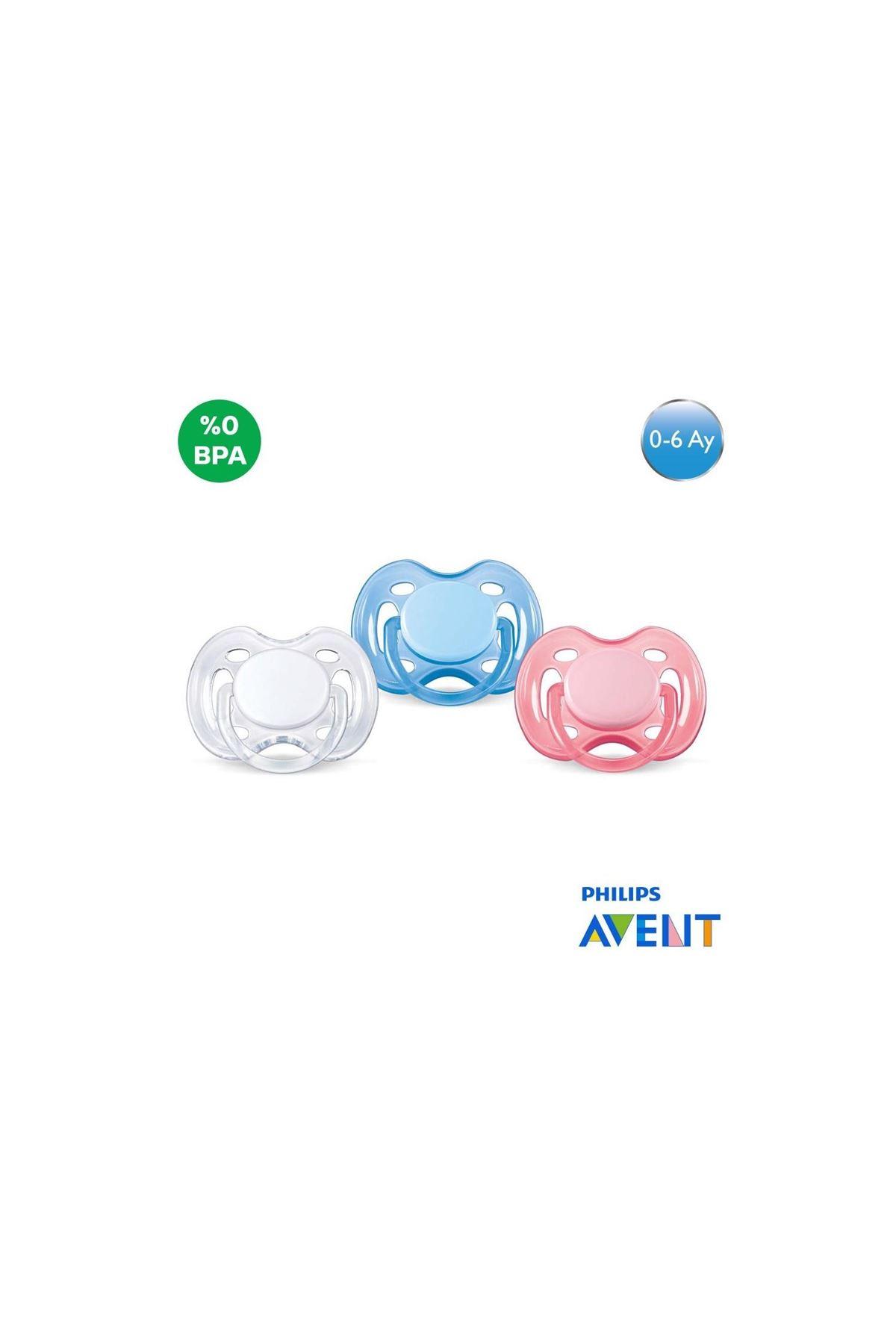 Philips Avent Free Flow Yalancı Emzik 0-6 Ay Renkli
