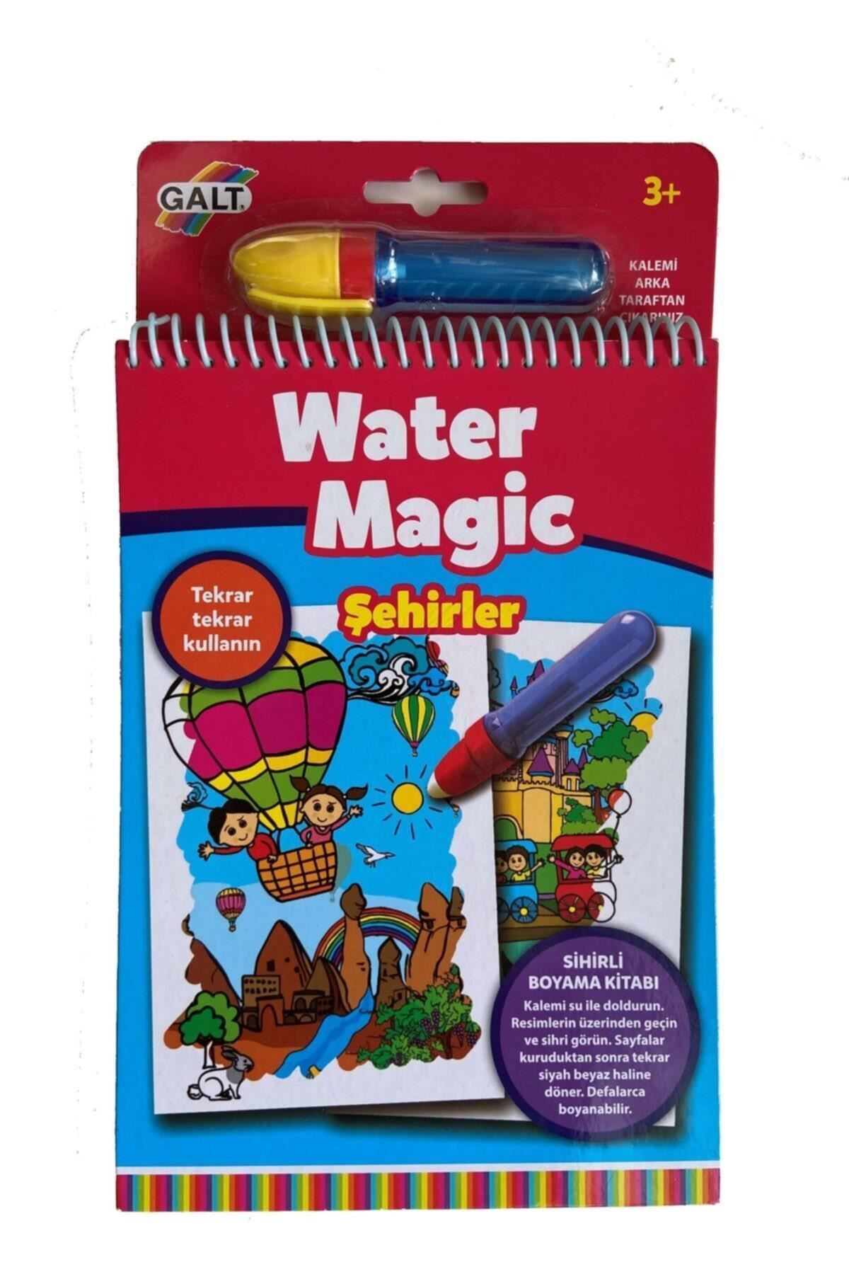 Galt Water Magic Sihirli Kitap Şehirler 3 Yaş+