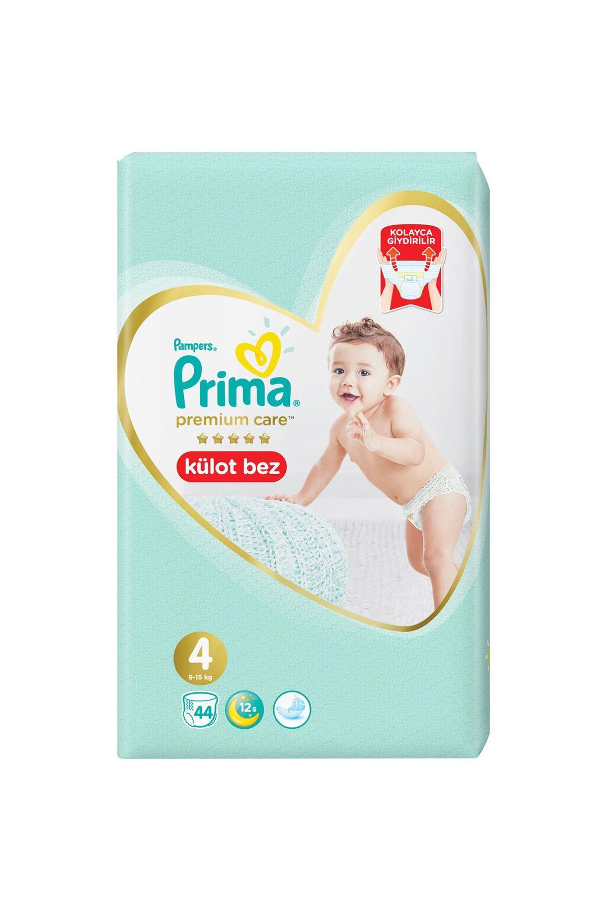 Prima Premium Care Külot Bebek Bezi 4 Beden 44 Adet