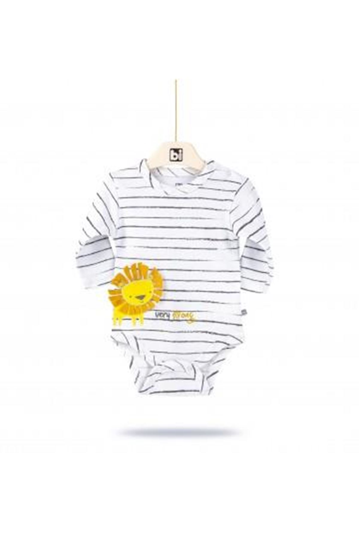 Bibaby Baby Lion Ay Body 56736 Beyaz