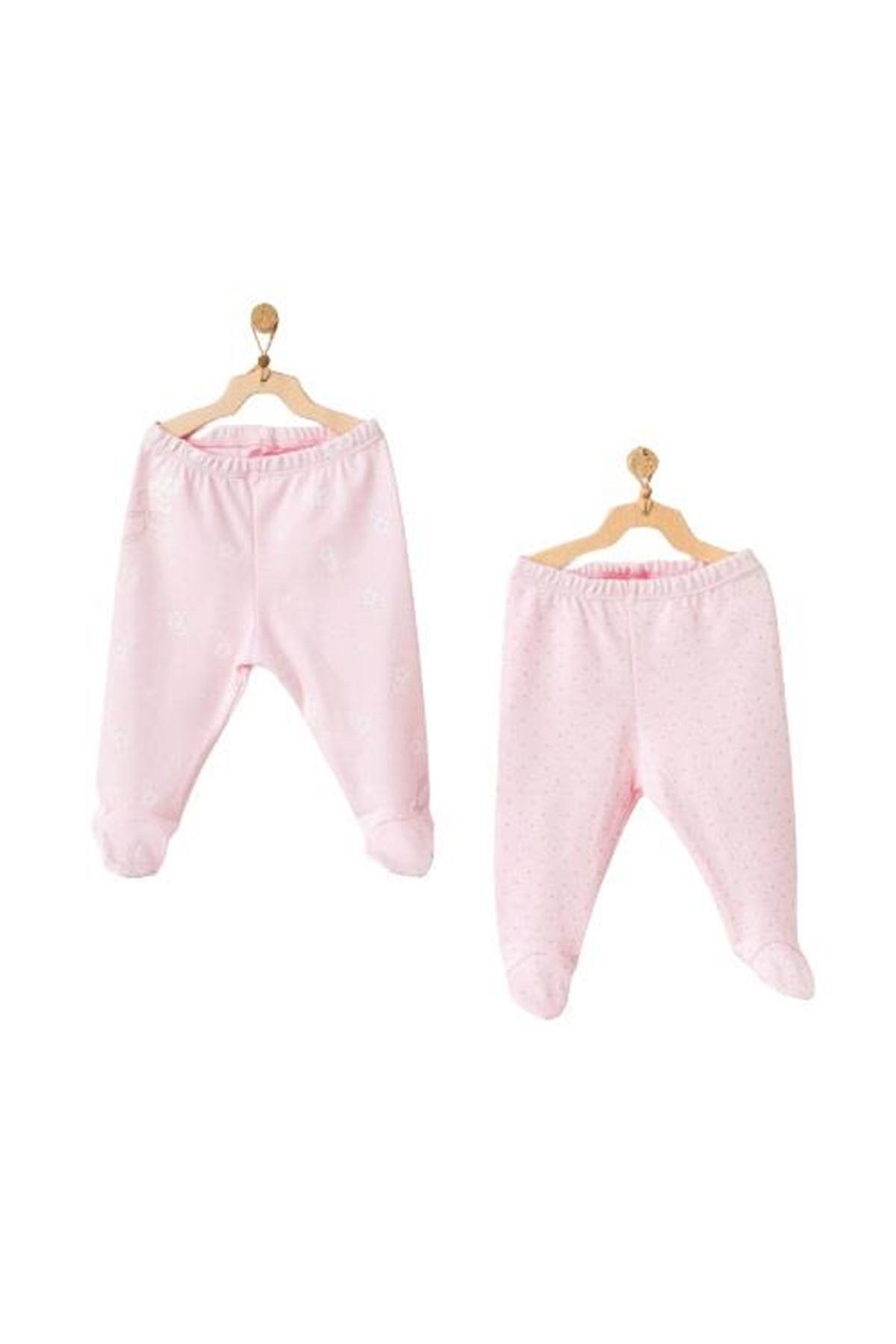 Andywawa AC21808 Milly Ballet 2li Patikli Pantolon Pink