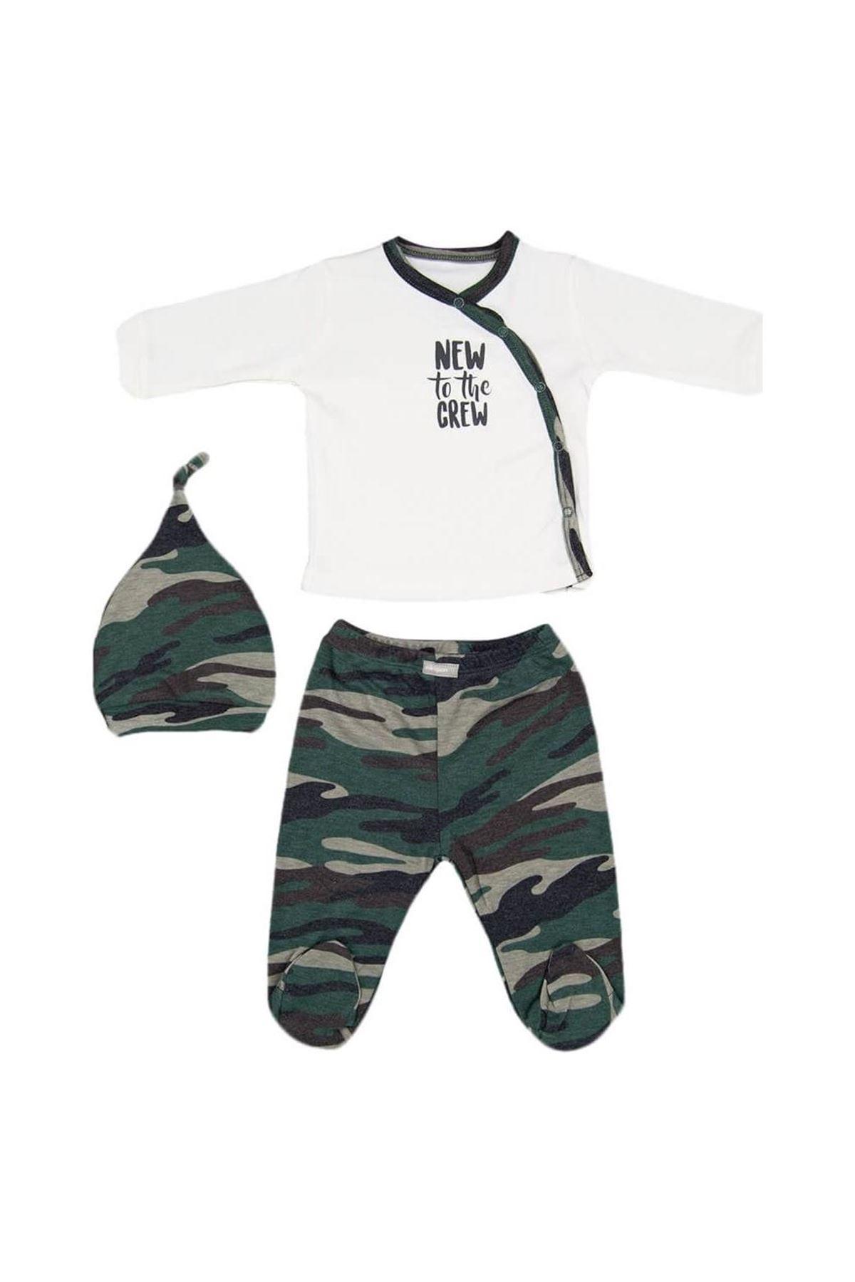 Bebepan Camo 3lü Bebe Takım 1996 Kamuflaj