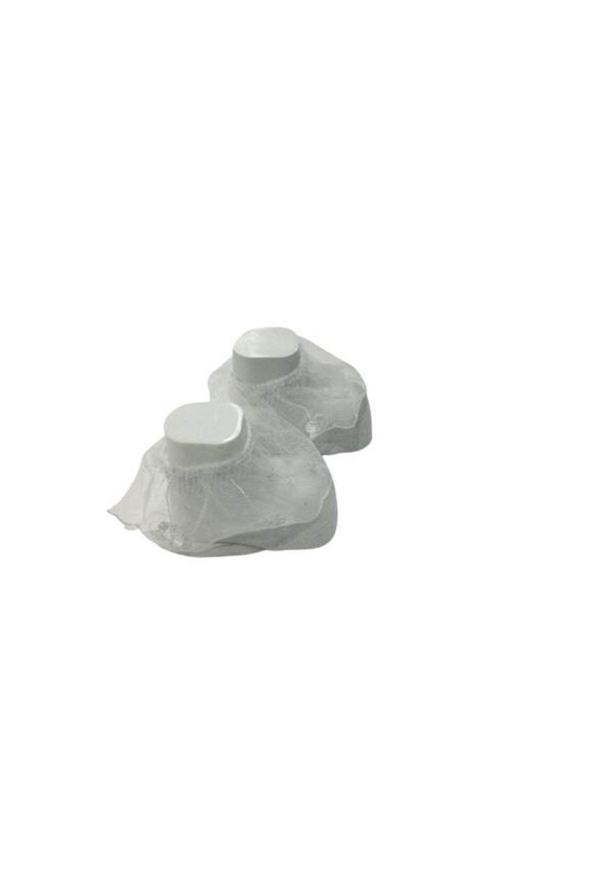 Albimini Minidamla Tüllü Çorap 44026 Beyaz