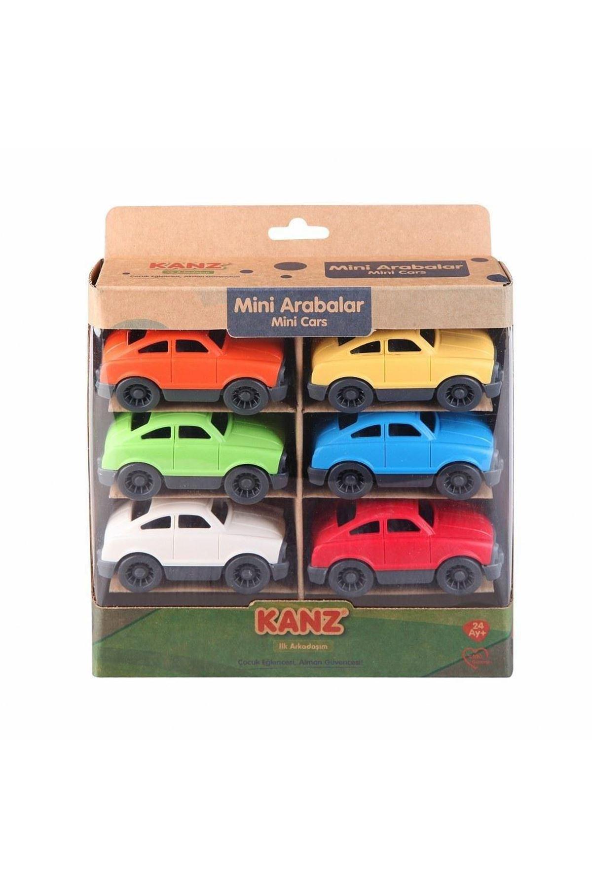 Kanz Minik Arabalar 6lı 30814