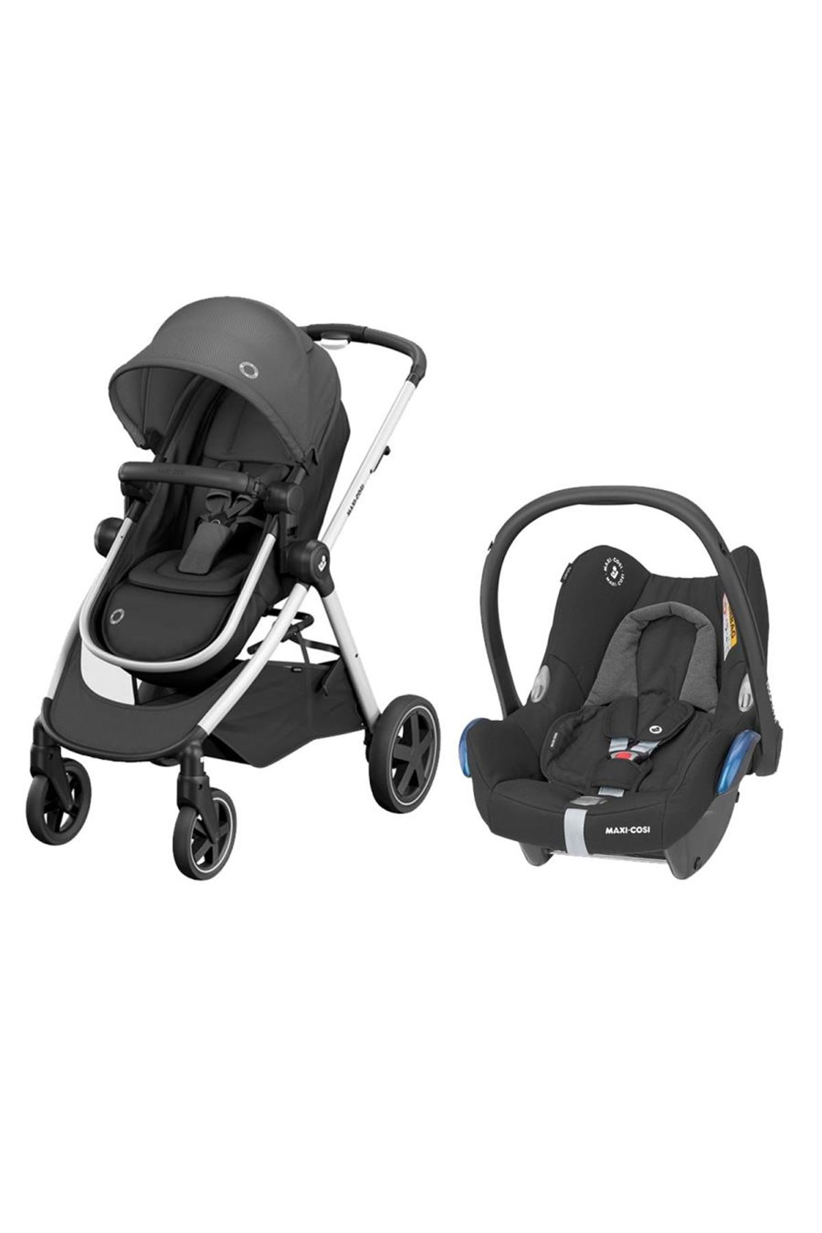 Maxi-Cosi Zelia Travel Sistem Bebek Arabası / Essential Black