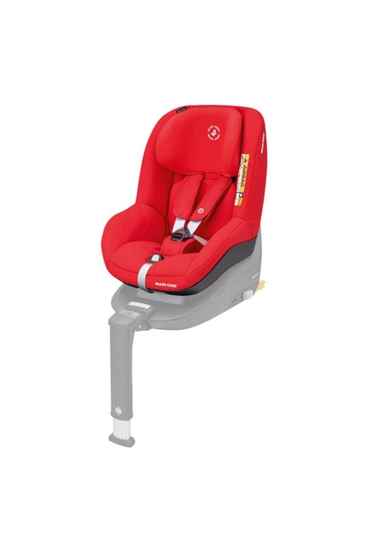 Maxi-Cosi Pearl Smart i-Size Oto Koltuğu & FamilyFix3 Isofix Baza / Nomad Red