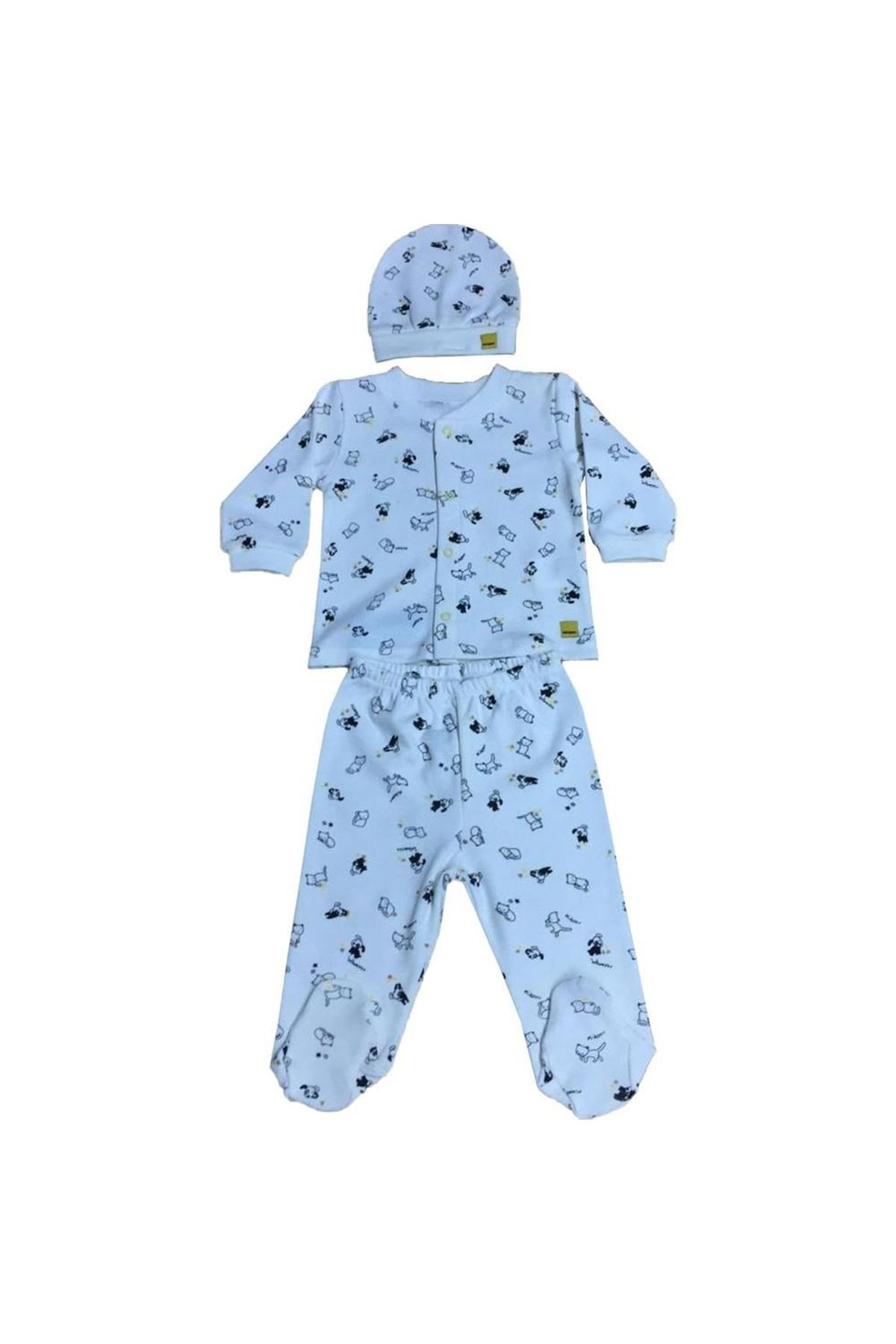 Bebepan Pets Bebek Pijama Takımı 2059 Orjinal