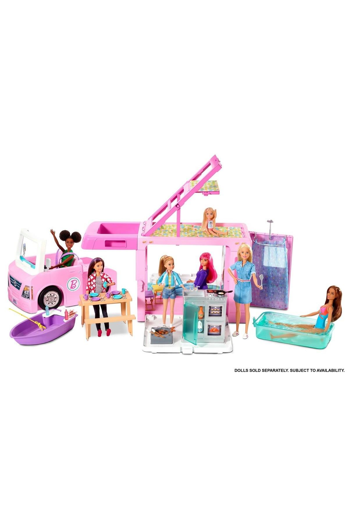 Barbie'nin Üçü Bir Arada Rüya Karavanı GHL93