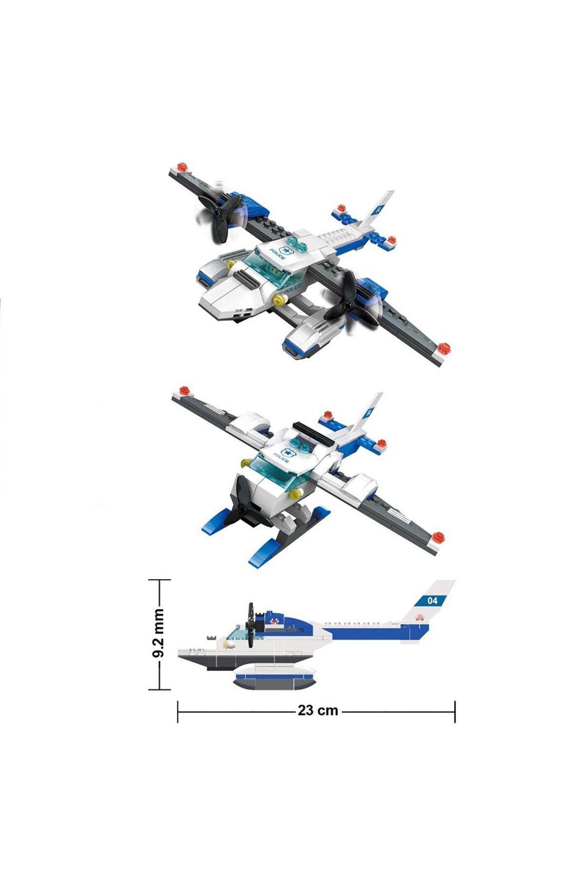 Galtoys Polis Sahil Güvenlik Uçağı 3İn1 174 Parça GAL-51014