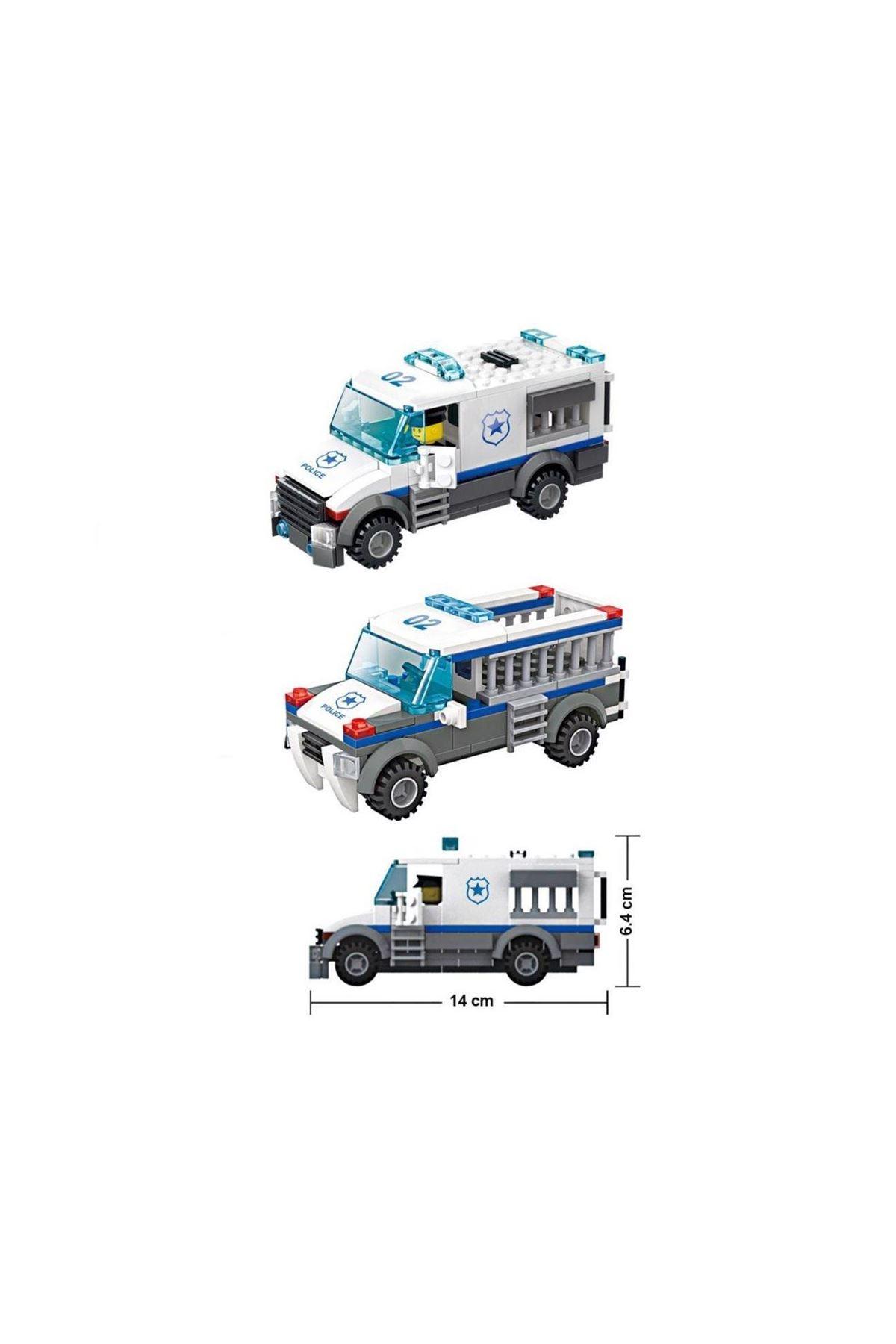 Galtoys Mahkum Taşıma Aracı 3İn1 214 Parça GAL-51012