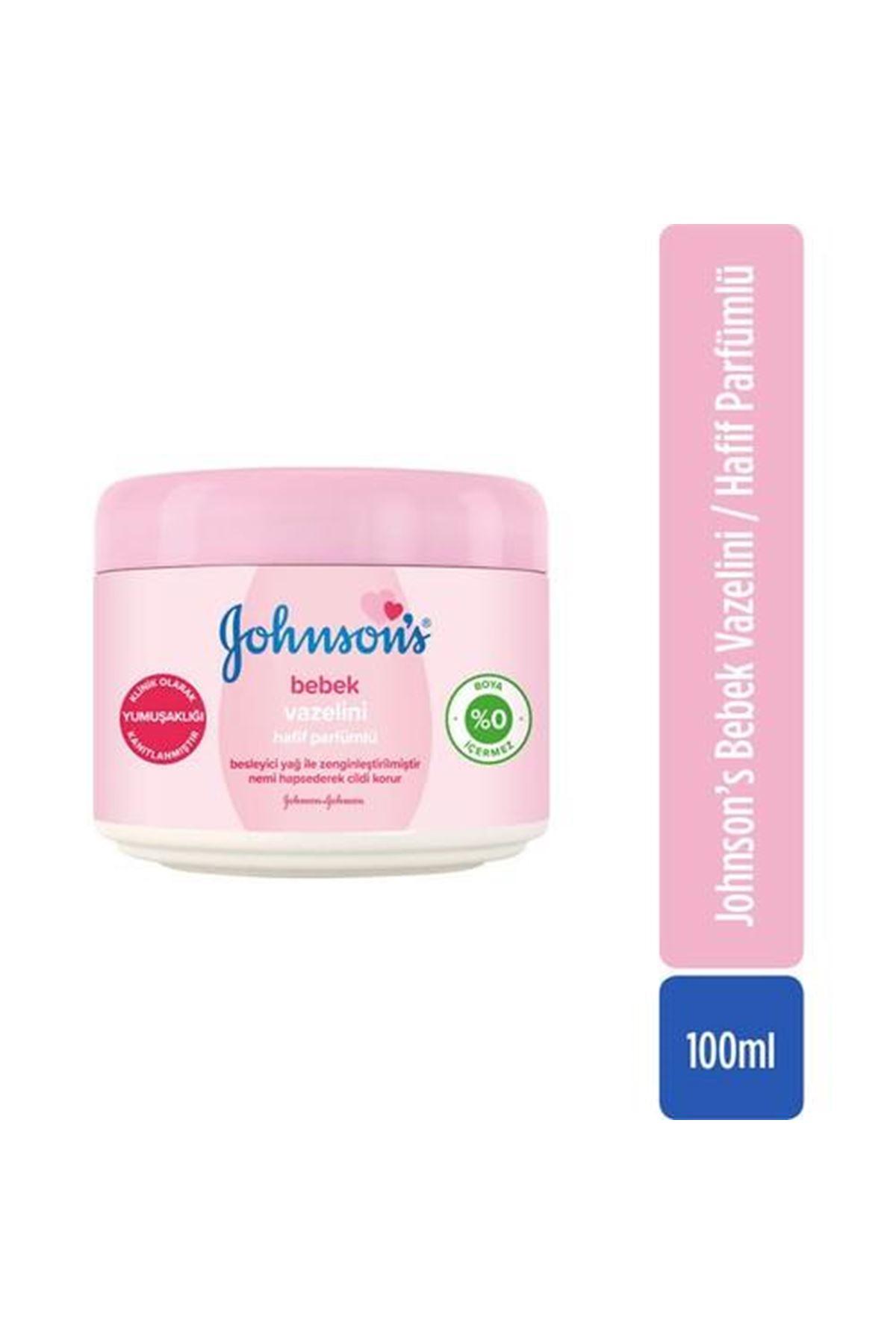 Johnson's Baby Vazelin Parfümlü 100 ml