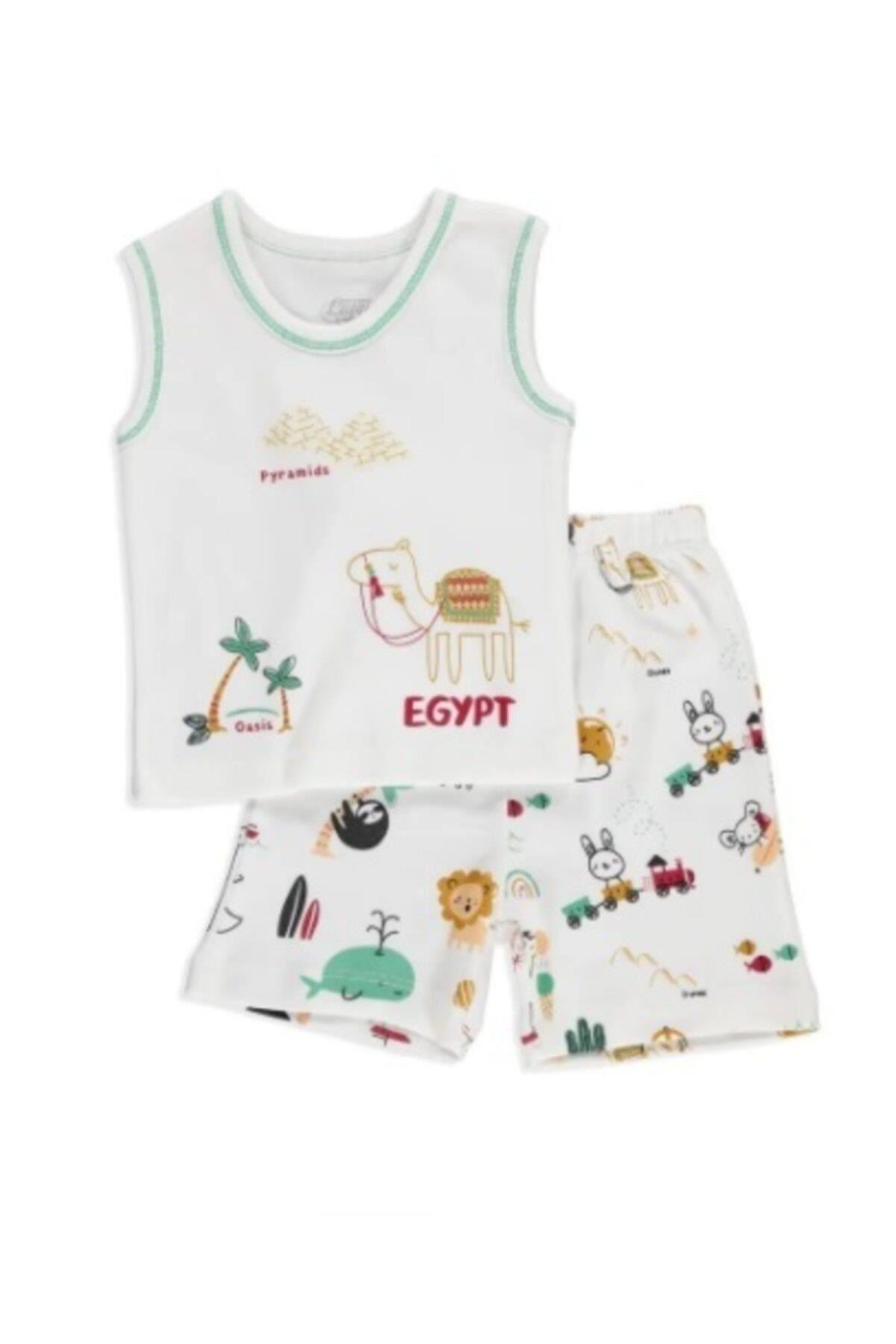 Luggi Baby Atlet Şort Takım Cute Camel 5056 Orjinal
